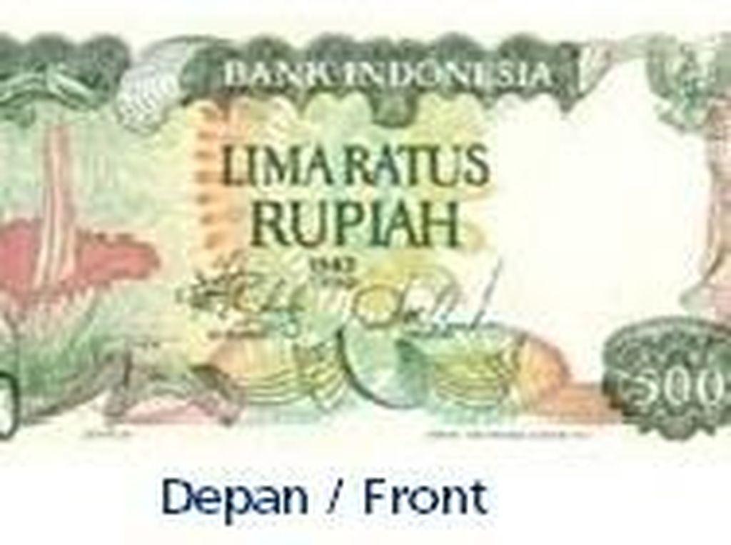 Uang kertas pecahan Rp 500/TE1982. Istimewa/Dok. Bank Indonesia.