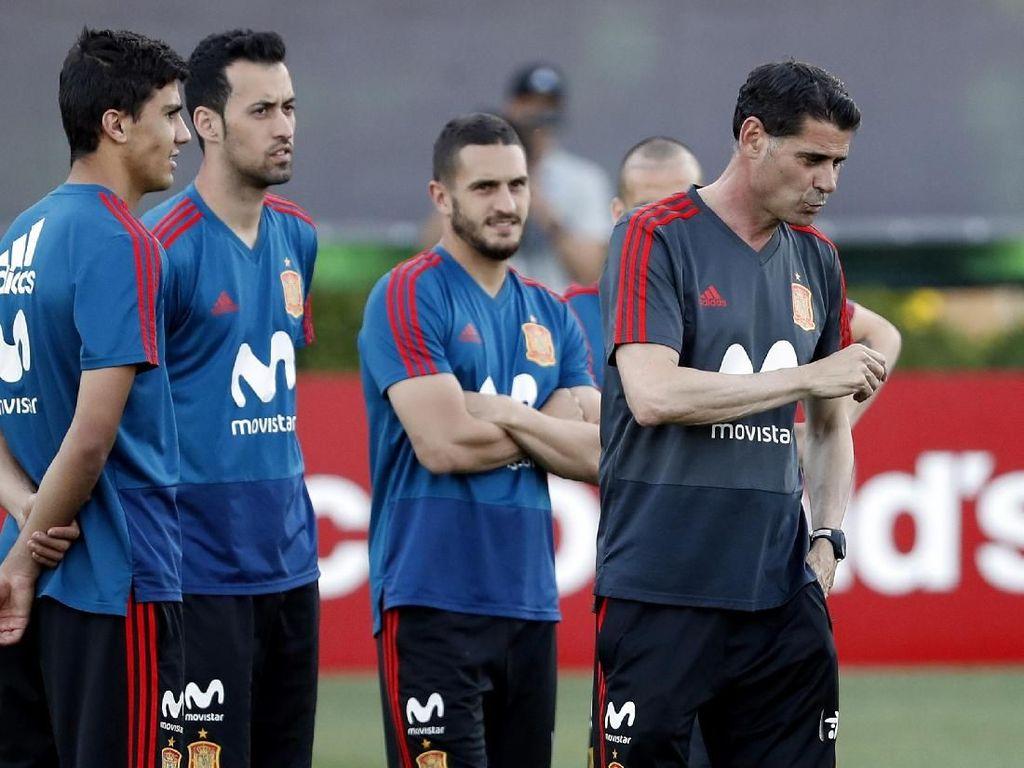Perubahan mendadak ini menambah tantangan untuk Spanyol di Piala Dunia 2018. Sebelumnya mereka dinilai sebagai salah satu favorit juara. (Foto: Getty Images)