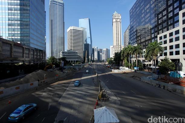H-1 Lebaran, Jakarta Sepi dan Lengang