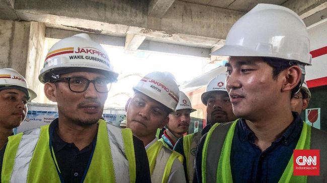 Sandiaga Ingin Harga Tiket LRT Gratis Selama Asian Games