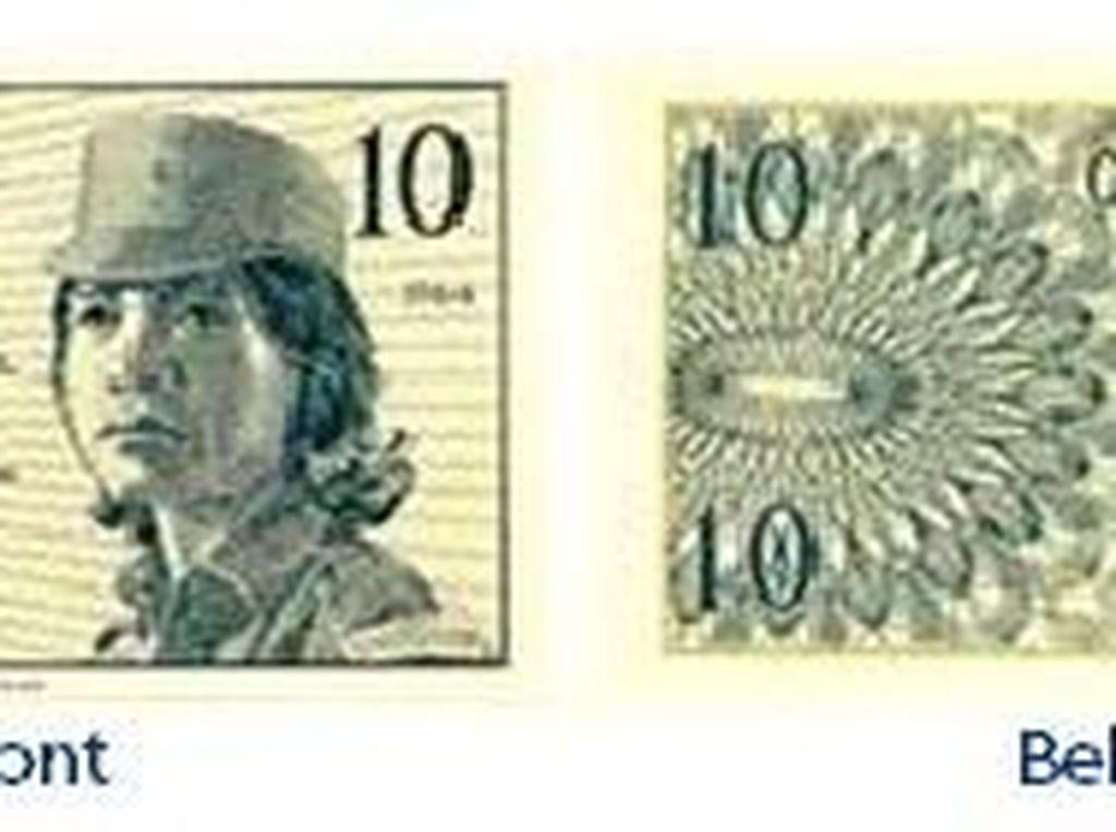 Uang kertas pecahan Rp 0,10/TE 1964. Istimewa/Dok. Bank Indonesia.