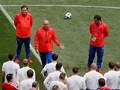 Timnas Rusia Lepas Ketegangan dengan Main 'Video Game'