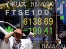 Yen Menguat, Bursa Saham Tokyo Ditutup Anjlok 1,33%