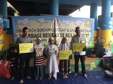 Bukopin Bagikan Ilmu ke Sekolah Anak Jalanan