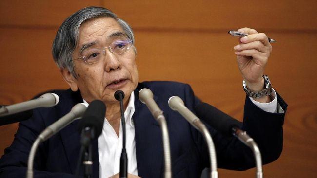 Bank Sentral Jepang Pangkas Proyeksi Inflasi