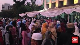 Masjid Istiqlal Mulai Dipadati Jemaah