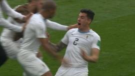 VIDEO: Gol Kemenangan Dramatis Uruguay vs Mesir