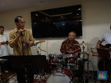 Gelar Open House, Menhub dan Menteri PUPR Kompak Main Band