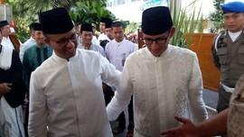 Tak Kirim Massa Besar, Sandi Tak Mau Anies Merengut DKI Macet