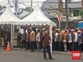 Warga Sempat Dorong-dorongan di Open House Wapres Jusuf Kalla
