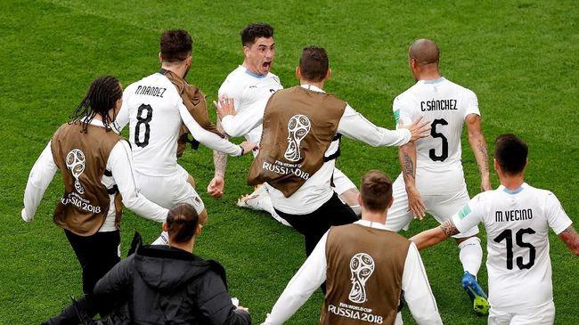 Prediksi Timnas Uruguay vs Arab Saudi di Piala Dunia 2018