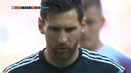 VIDEO: Momen Messi Gagal Penalti di Argentina vs Islandia