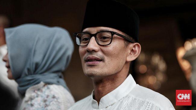 Belum Umumkan Cawapres Prabowo, Sandi Ingin Hormati Jokowi