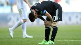 FOTO: Islandia Menahan Imbang Argentina