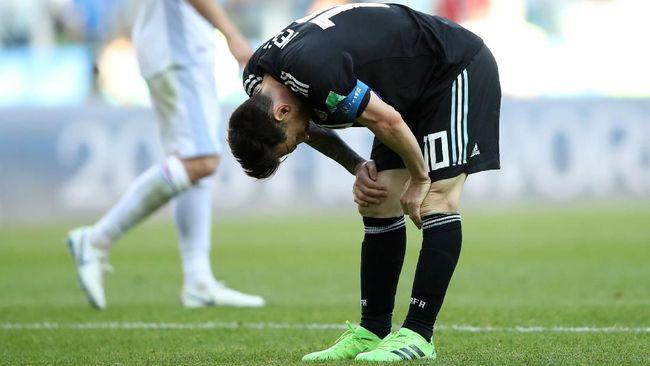 Israel Sebut Kegagalan Penalti Messi Karena Batal Tanding