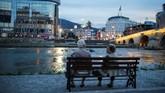Berbeda dengan pemisahan Bosnia Herzegovina dan Kosovo yang penuh konflik dan peperangan, pemisahan Makedonia relatif berlangsung damai. (REUTERS/Marko Djurica)