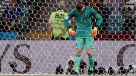De Gea Tak Pernah Lakukan Penyelamatan di Piala Dunia 2018