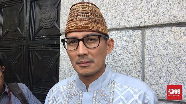 Sandiaga Nilai Pemikiran Chairul Tanjung Cocok dengan Prabowo