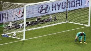Blunder, De Gea Akui Salah Antisipasi Tendangan Ronaldo