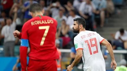 Daftar Top Skor Piala Dunia 2018, Diego Costa Kejar Ronaldo