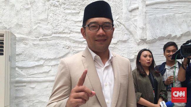 Ridwan Kamil: 2019 Ganti Presiden Rada Kencang di Jawa Barat