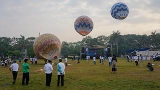 Menhub Minta Polisi Sita Balon Udara yang Mengganggu