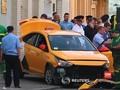 VIDEO: Taksi Tabrak Suporter Piala Dunia di Moskow