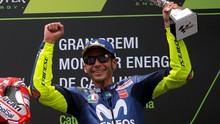 Hasil MotoGP Thailand Bikin Rossi Bergairah di MotoGP Jepang