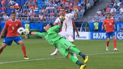 VIDEO: Highlight Pertandingan Kosta Rika vs Serbia