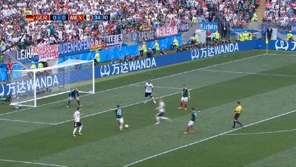 VIDEO: Highlight Pertandingan Babak I Jerman vs Meksiko