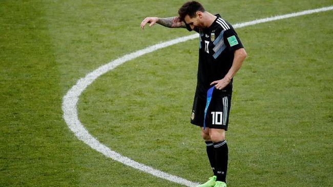 Messi: Menyakitkan Gagal Penalti Lawan Islandia