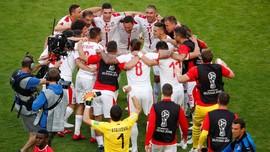 6 Fakta Timnas Serbia vs Swiss di Piala Dunia 2018