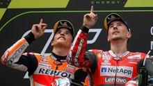 Takut Jatuh, Marquez Tak Balap Lorenzo di MotoGP Catalunya