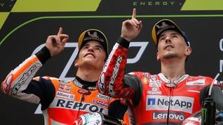 Satu Tim Bersama Lorenzo, Marquez Tak Akan Ikuti Jejak Rossi