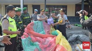 Polres Ponorogo Amankan 16 Balon Udara Saat Libur Lebaran