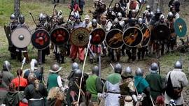 FOTO: Perang Lima Pasukan ala 'The Hobbit' di Hutan Ceko
