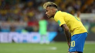 Neymar Tak Ikut Sesi Latihan Bersama Timnas Brasil