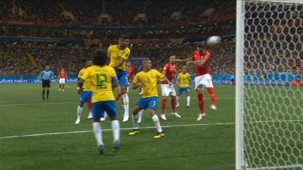VIDEO: Cuplikan Gol Laga Brasil vs Swiss