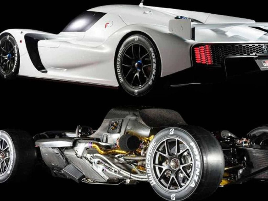 GR Super Sport Concept disokong dengan mesin turbocharger V6 kembar dan Toyota Hybrid System-Racing (THS-R). Foto: Istimewa