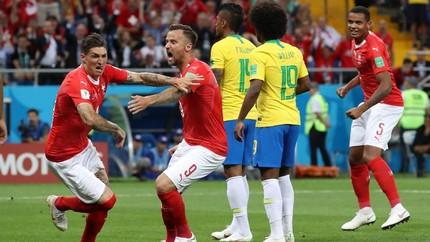 Brasil Gagal Menang Lawan Swiss di Grup E Piala Dunia 2018