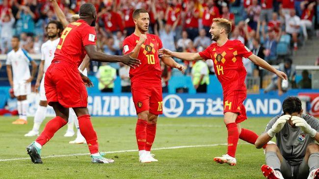Prediksi Belgia vs Tunisia di Grup G Piala Dunia 2018