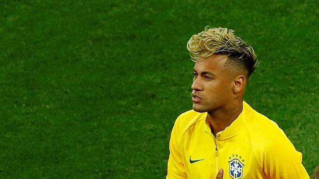 Neymar Tiga Kali Ubah Gaya Rambut di Piala Dunia 2018