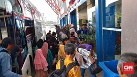 Jelang Nyepi, Penumpang di Terminal Pulogebang Melonjak