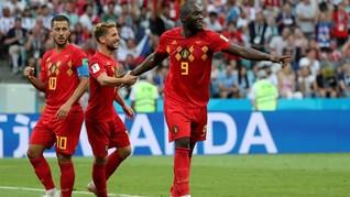 Top Skor Piala Dunia 2018, Lukaku Sejajar dengan Ronaldo