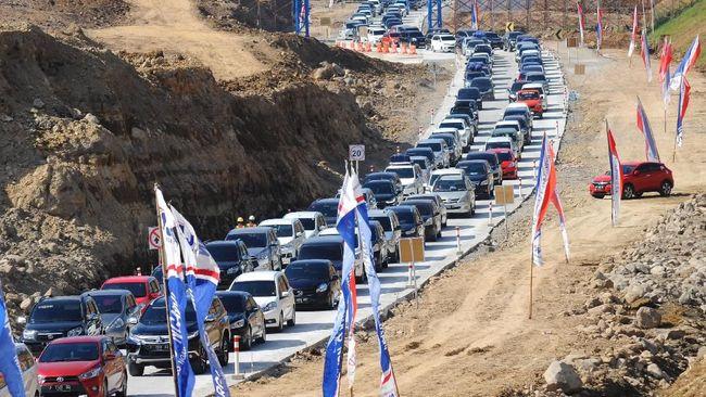 Ribuan Kendaraan Pemudik Berangsur Balik ke Jakarta