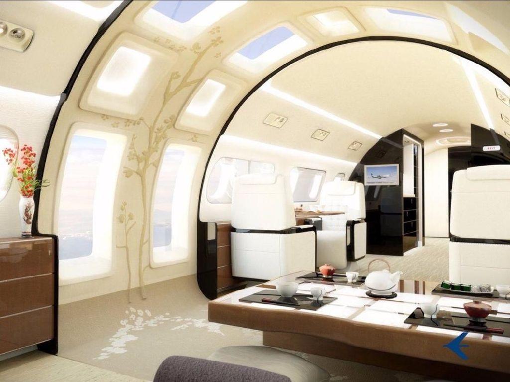 Mengintip Jeroan 8 Jet Pribadi Paling Mewah di Dunia