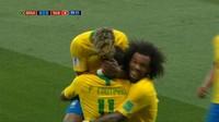 VIDEO: Highlights Babak Pertama Brasil vs Swiss