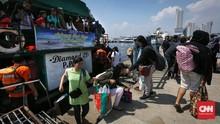Penumpang ke Pulau Seribu Semakin Menurun di H+10 Lebaran