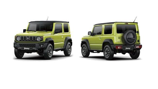 'Harga Resmi' Suzuki Jimny Bocor