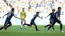 FOTO: Momen Timnas Jepang Cetak Sejarah di Piala Dunia